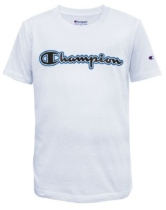 Champion Hd Gel Script Big Boys Tee