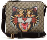 Gucci Angry Cat-print GG Supreme messenger bag