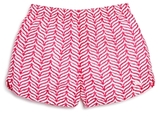 Vineyard Vines Girls' Island Whale Tail Shorts - Big Kid