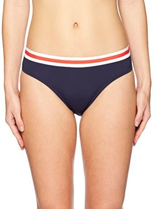 Nautica Women's Colorblock Core Bikini Bottom