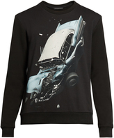 Christopher Kane Car crash-print sweatshirt