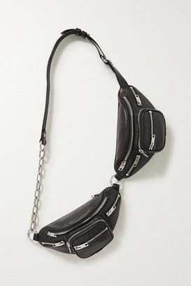 Alexander Wang Attica Double Leather Belt Bag - Black
