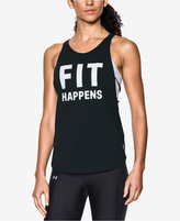 Under Armour Strappy Graphic Tank Top