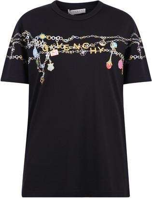 Givenchy Logo Charms Printed T-Shirt