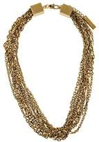 Burberry Multistrand Chain Necklace