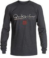 Quiksilver Waterman Men's Gut Check Ls Tee Shirt