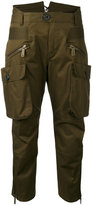 DSQUARED2 cropped cargo trousers - women - Cotton - 36