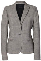 Banana Republic Classic-Fit Plaid Blazer