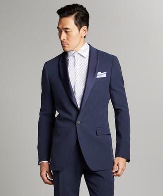 Todd Snyder Black Label Sutton Shawl Collar Tuxedo Jacket in Navy Italian Linen