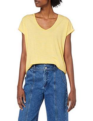 Vero Moda Women's Vmava Plain V-Neck Top VMA T-Shirt,X-Small