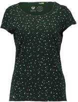 Ragwear MINT C ORGANIC Print Tshirt dark green