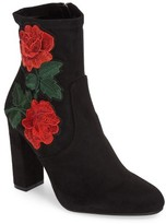 Steve Madden Women's Edition Embroidered Bootie