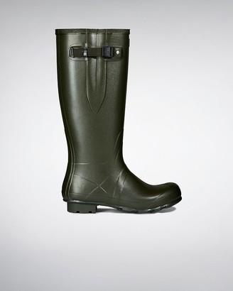Hunter Men's Norris Field Side Adjustable Neoprene Lined Rain Boots