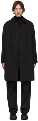 Schnaydermans Black Oversized Coat