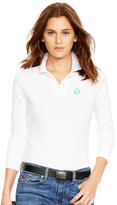 Personalization Skinny-Fit Long-Sleeved Polo