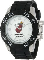 Game Time Men's NBA-BEA-MIA Beast Round Analog Watch