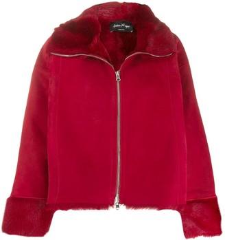 Andrea Ya'aqov Zipped Shearling Jacket