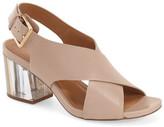 Calvin Klein Loni Clear Block Heel Sandal