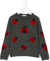 Dolce & Gabbana ladybugs sweatshirt