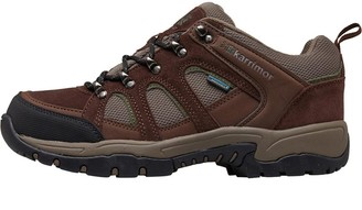 Karrimor Mens Bodmin Low 4 Weathertite Hiking Boots Dark Brown/Green
