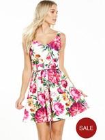 Miss Selfridge PETITE Floral Prom Dress