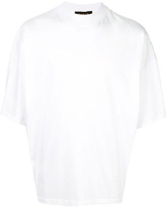 Caban loose-fit plain T-shirt