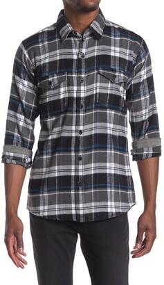 Burnside Plaid Flannel Shirt