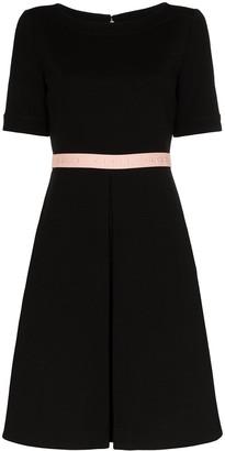 Gucci logo waistband dress