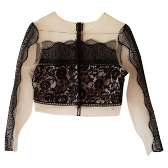 KENDALL + KYLIE \N Black Lace Top for Women
