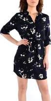 Dex Rolup S Button Front Shirt Dress