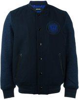 Diesel padded varsity jacket