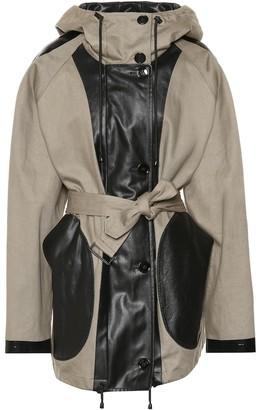 Dries Van Noten Vanzy cotton-blend jacket
