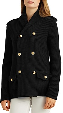 Ralph Lauren Ralph Double Breasted Knit Jacket