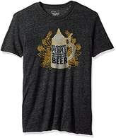 Lucky Brand Men's Good Beer People Graphic Tee
