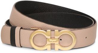 Salvatore Ferragamo Gancini Reversable and Adjustable stone belt