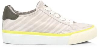 Rag & Bone RB Army Low-Top Zebra-Stripe Leather Sneakers