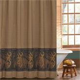 BROWNING Browning Oak Tree Buckmark Shower Curtain