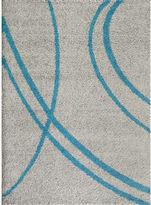 Asstd National Brand World Rug Gallery Florida Curves Shag Rectangle Rug