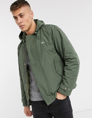 Lacoste hooded jacket