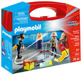 Playmobil NEW Fire Rescue Carry Case 36pc