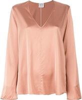 Forte Forte V-neck blouse - women - Spandex/Elastane/Viscose - 0