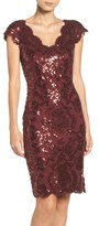 Tadashi Shoji Sequin Sheath Dress (Regular & Petite)