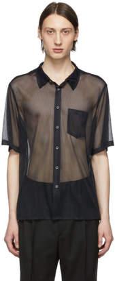 Cmmn Swdn Black Mesh Niels Shirt