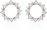 Nikos Koulis Lingerie White Gold Earrings