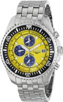 Sartego Men's SPC47 Ocean Master Quartz Chronograph Watch