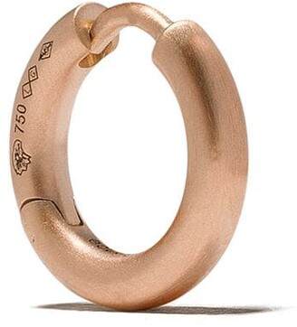 Le Gramme 18kt brushed red gold 17/10G Bangle earring