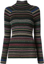 Milly glitter rainbow striped sweater