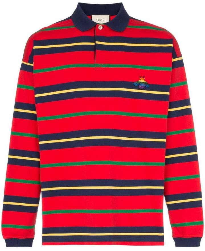 04083e32606d Gucci Stripe Polo Shirts - ShopStyle