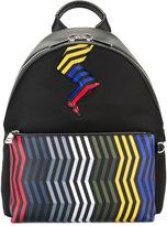 Fendi embellished backpack