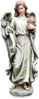 15.25-Inch Angel with Jar Garden Ornament